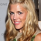 Busy Philipps wore her hair pulled back.