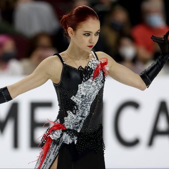 Watch Alexandra Trusova's Cruella Figure-Skating Routine