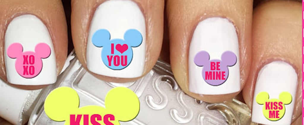 Fall in Love With These Valentine's Day Disney Nail Decals