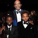 Pictured: Samuel L. Jackson, Alex R. Hibbert, and Jaden Piner