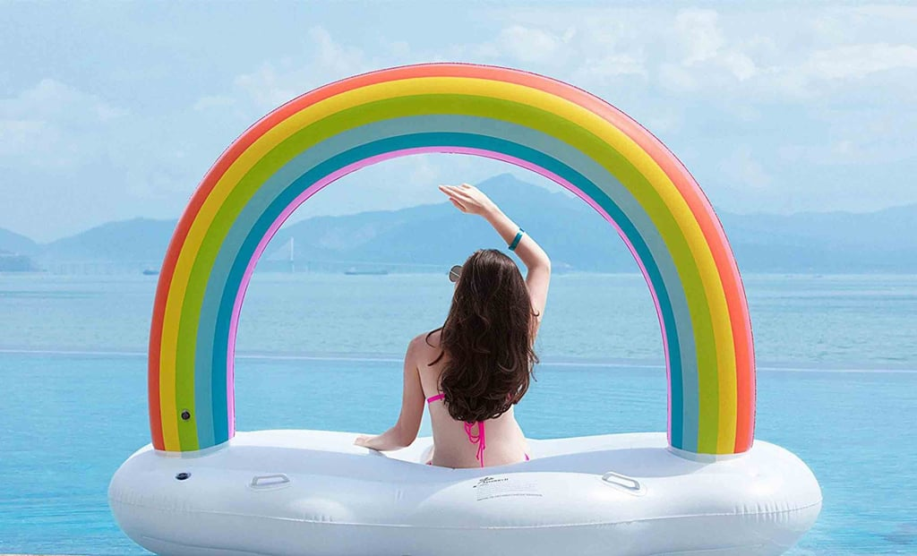 Rainbow Pool Float Popsugar Home