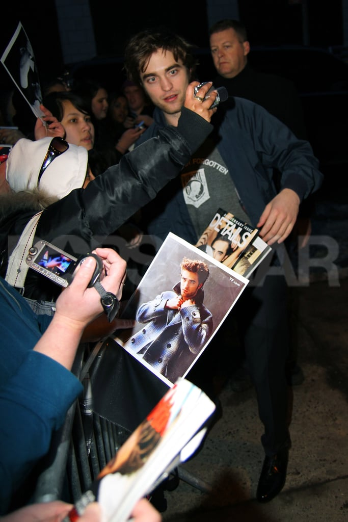 Photos of Robert Pattinson in New York City