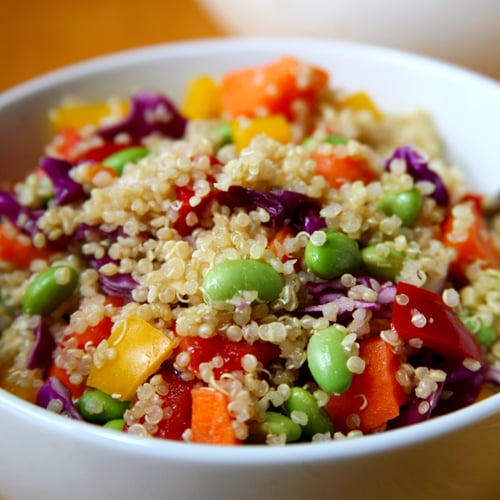 Sesame Ginger Quinoa Salad | Vegan | POPSUGAR Fitness
