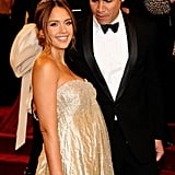 Jessica Alba and Cash Warren in 2011
