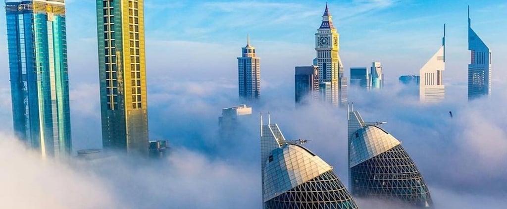 دبي تحثّ على اتباع نظام ساعات عمل مرنة خلال الأحوال الجويّة