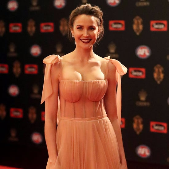 Rachael Finch Pink Dress Brownlow Awards 2017