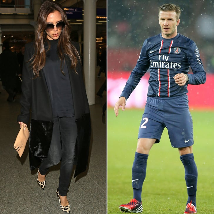 Victoria Returns to Paris to See David's Saint-Germain Debut