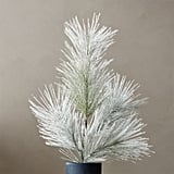 White Walkers: Flocked Artificial Pine Spray