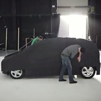 Invisible Car by Mercedes-Benz