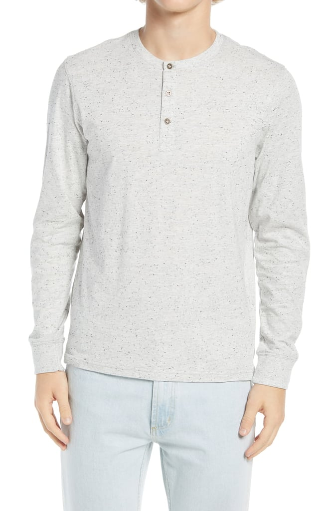 Threads For Thought Tyrone Flecked Henley