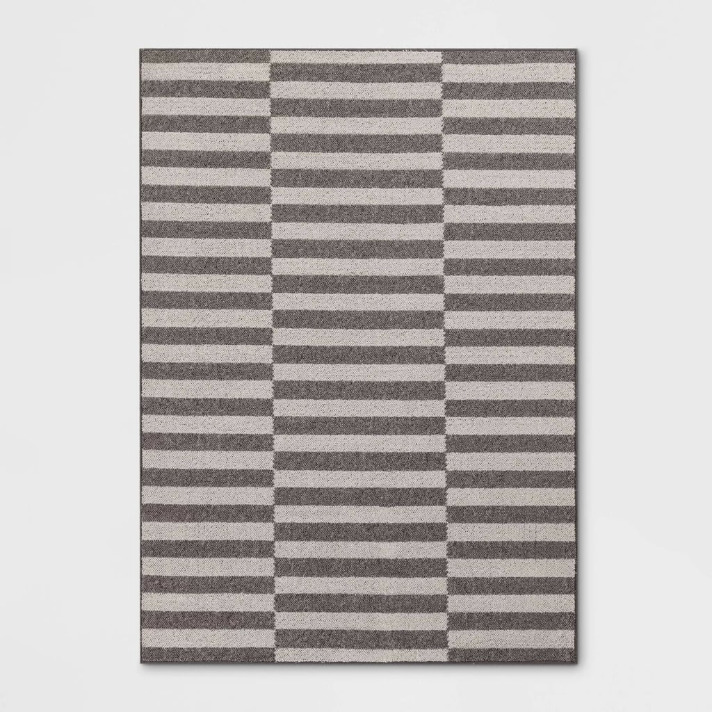 Indoor/Outdoor Stripe Tufted Rug