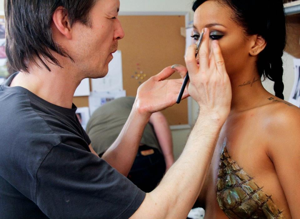 "Go Behind the Scenes on Rihanna's ""Where Have You Been"" Video"