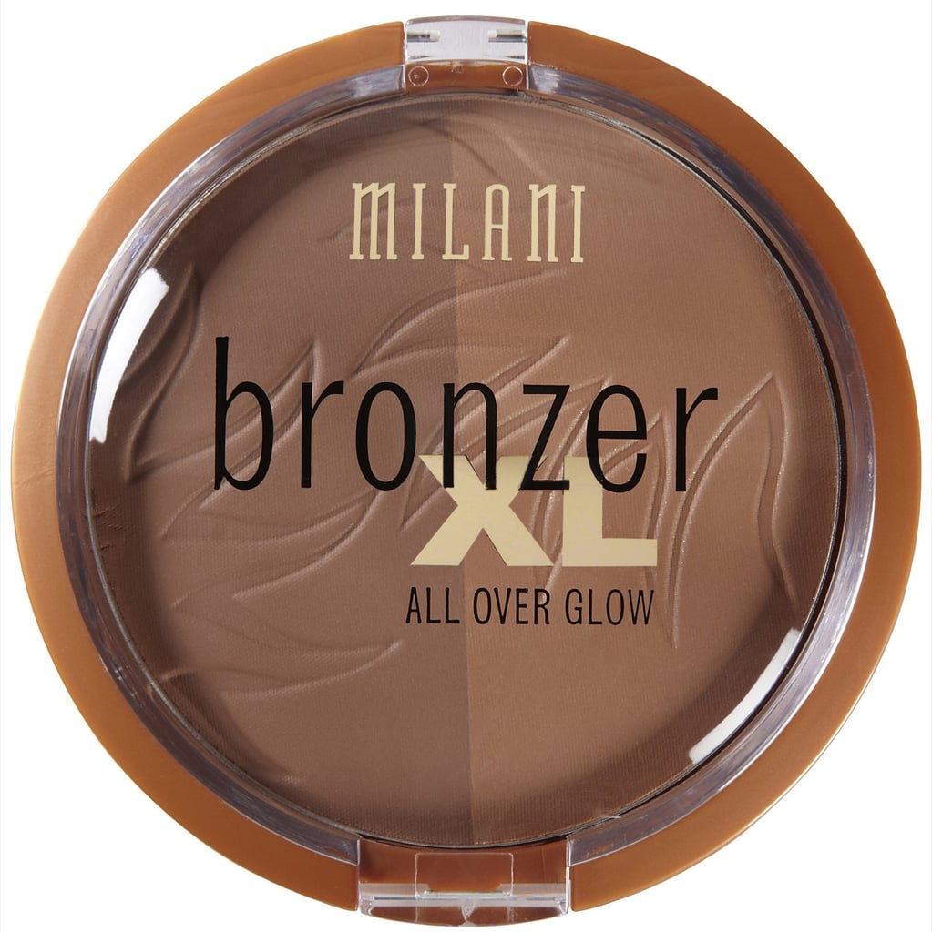 If you can't decide between matte or shimmer, then reach for Milani Bronzer XL Powder ($9). This bronzer duo has both!