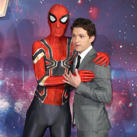Tom Holland on Avengers: Infinity War Press Tour