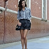The perfect chic-shorts ensemble.  Photo courtesy of Lookbook.nu