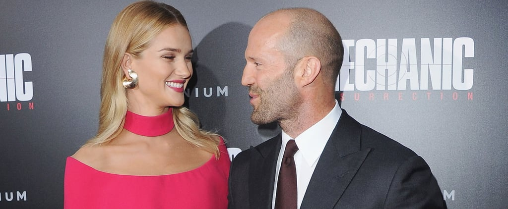 Rosie Huntington-Whiteley Looks Like Barbie During a Date Night With Jason Statham