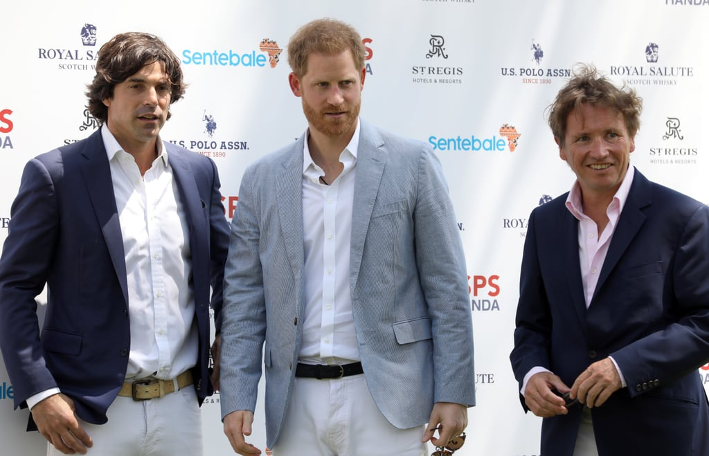 Prince Harry Spends His First Night Away From Baby Archie as He Attends Charity Polo Match