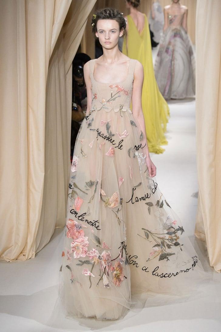 Valentino haute couture spring 2015 wedding dresses for Valentino short wedding dress