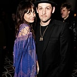 Nicole Richie and Joel Madden stuck together at a Grammys afterparty in January 2010.