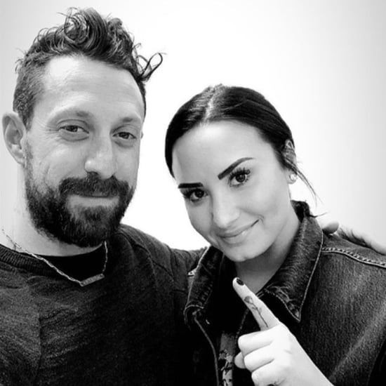 Demi Lovato Rose Finger Tattoo