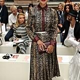 Helen Mirren at the Victoria Beckham London Fashion Week Show