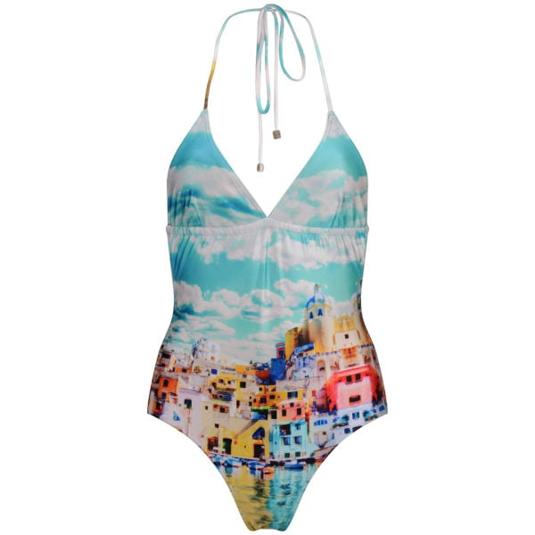 We Are Handsome The Township Halter One Piece ($370)