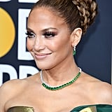 Jennifer Lopez at the 2020 Golden Globes