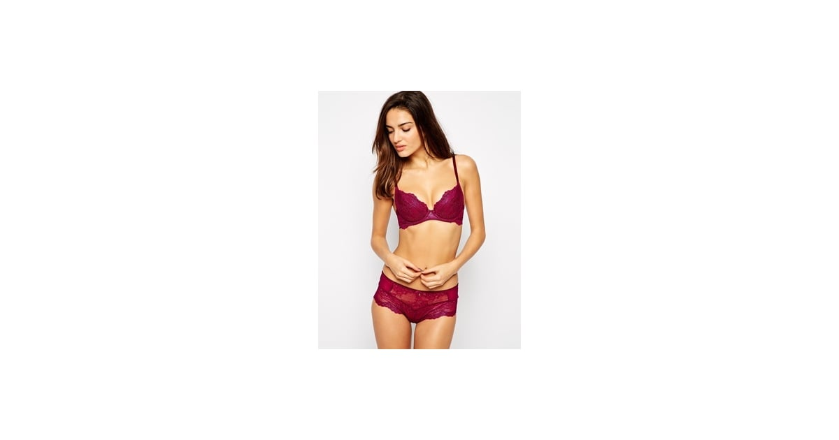 e2ba64f6fc Gossard Limited Edition Superboost Lace Plunge Bra and String
