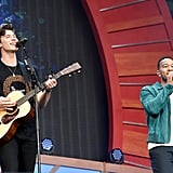 Shawn Mendes and John Legend