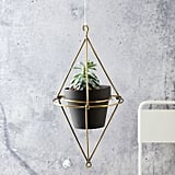 Plated Brass Hanging Wire Pot Bracket ($29)