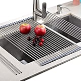 EMBATHER  Heat Resistant Roll Up Dish Drying Rack
