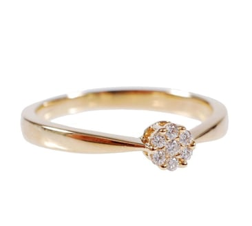 Love the delicacy of this Demitasse diamond ring ($599)