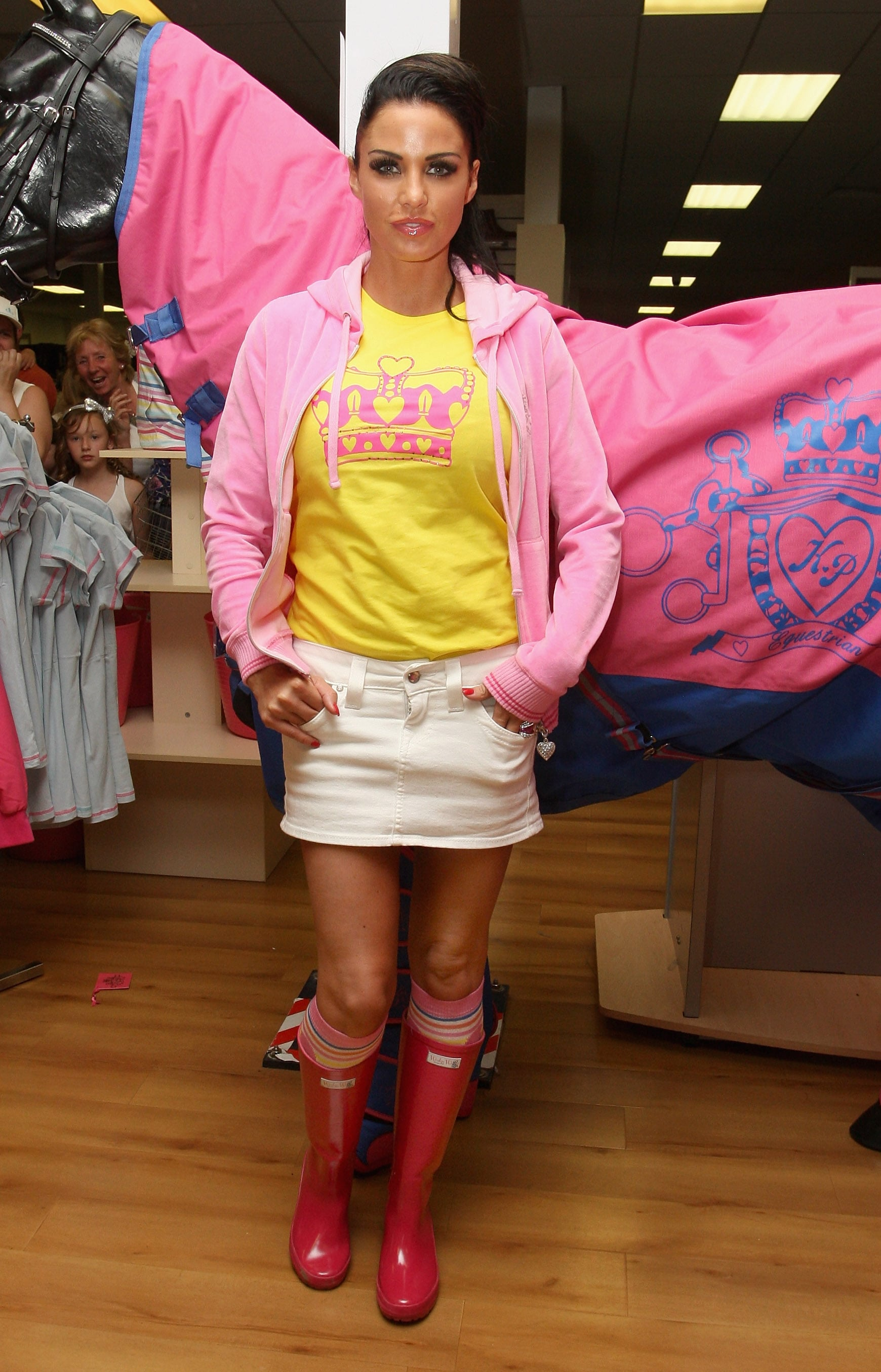 Pictures of Katie Price at KP Equestrian Signing in Chelmsford and