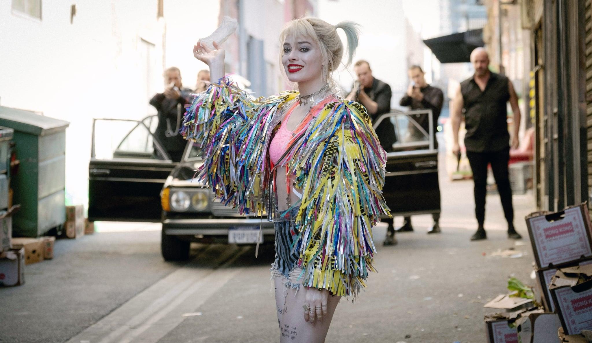 BIRDS OF PREY, Margot Robbie as Harley Quinn, 2020. ph: Claudette Barius /  Warner Bros. / courtesy Everett Collection