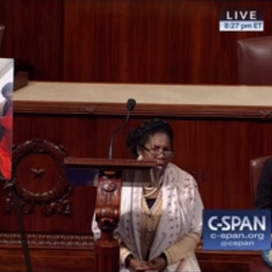Congresswoman Sheila Jackson Lee Take a Knee on House Floor