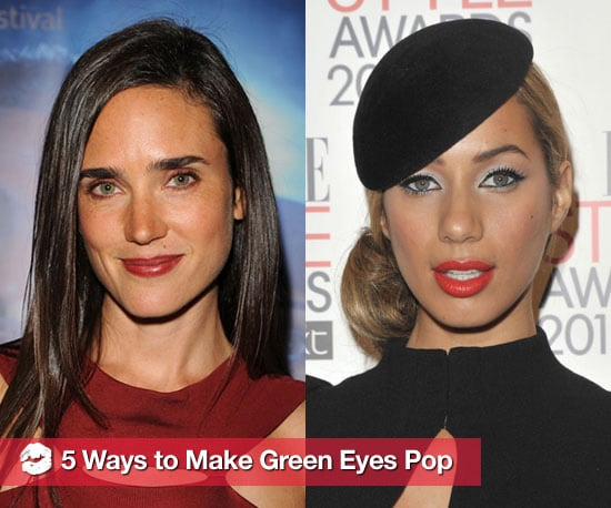 how to make the green in hazel eyes pop