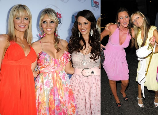 Chanelle Hayes, Charlotte Mears, Naomi Millbank-Smith, Orlaith McAllister, Michelle Scott-Lee and Nikki Grahame in London
