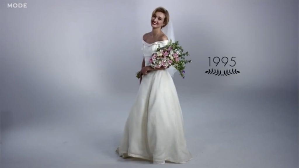 100 Years Of Wedding Dresses Video Popsugar Fashion Photo 11