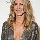 Jennifer Aniston rocked a low-cut dress at the Elle Women in Hollywood Tribute