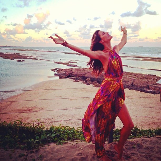Alessandra Ambrosio shared this gorgeous vacation photo with her fans. Source: Instagram user alessandraambrosio