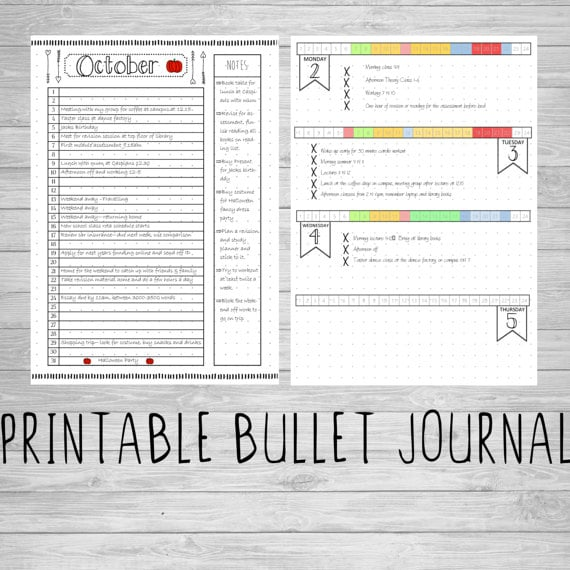 picture regarding Bullet Journal Pages Printable known as Printable Bullet Magazine Web pages Bullet Magazine Browsing