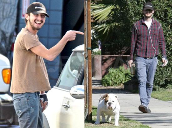 Shia and His Dog