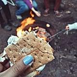 Build a Campfire and Make S'mores