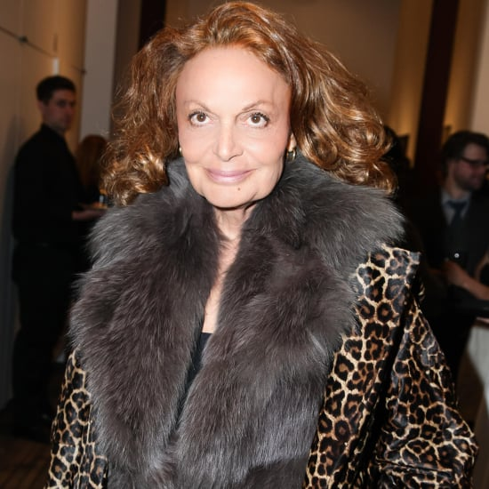 Diane von Furstenberg in Second Skiing Accident