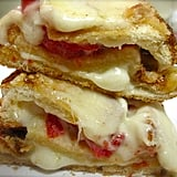 Triple-Decker Baked Italian Cheese Sandwich
