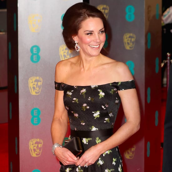 Floral Dress Trend on BAFTA 2017 Red Carpet
