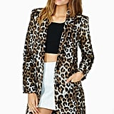 BB Dakota Hazel Leopard Coat ($90, originally $128)