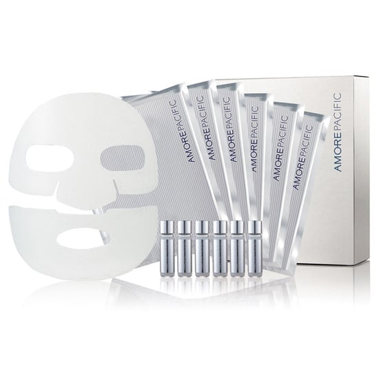Best for: someone with dull skin and a DIY obsession. Instead of applying a mask and leaning back, the AmorePacific Refreshing Masque Set ($90 for six masks) requires a little bit of set up. Apply one of the single-use ampoules-refreshing treatment all over your face, and then smooth a sheet mask on top to seal in the product. After 15-20 minutes, you'll have glowing, hydrated skin.