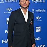 Diggy Simmons at the 2020 NAACP Image Awards Dinner
