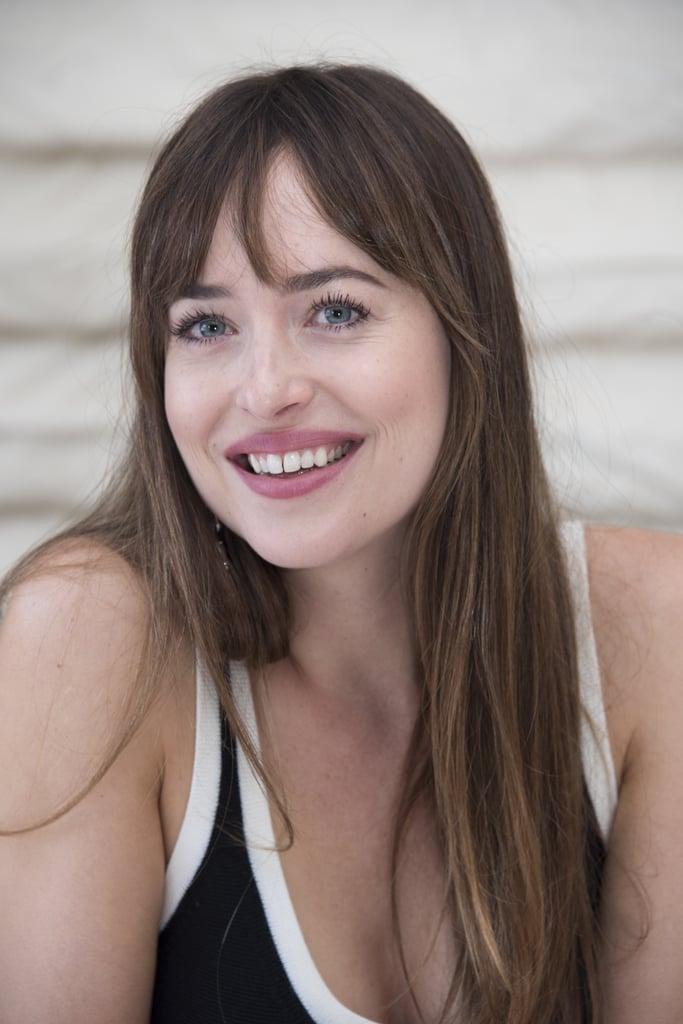 Dakota Johnson's Smile Before